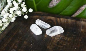bergkristalpuntje klein