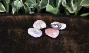 Botswana agaat roze/paars geslepen 10-20 gram