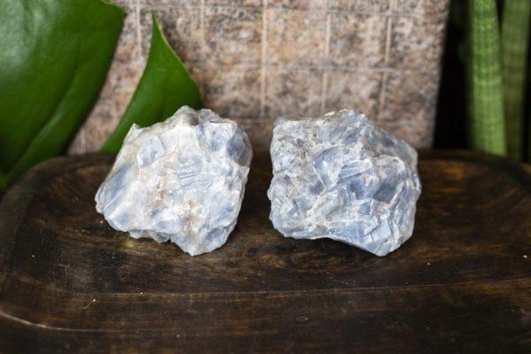blauwe calciet 350 - 650 gram
