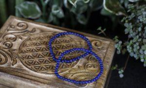 Armband lapis lazuli 4mm