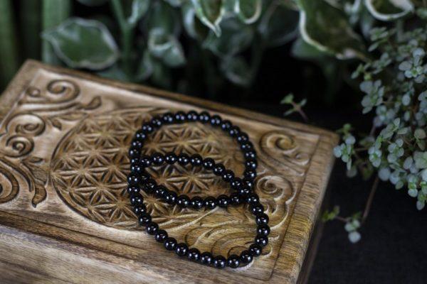 Armband zwarte toermalijn