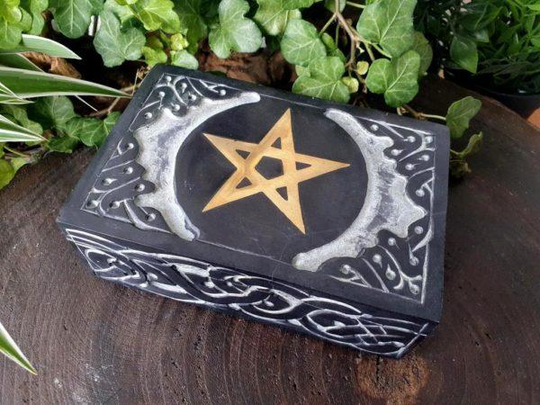 doos pentagram zeepsteen