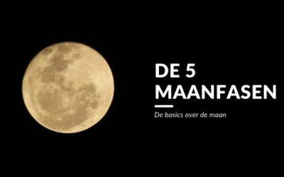De 5 maanfasen