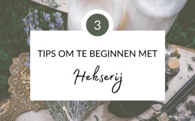 3 tips om te beginnen met hekserij